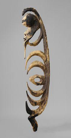Figure (Yipwon) [Yimam people, Korewori River, Middle Sepik region, Papua New Guinea] (1978.412.854) | Heilbrunn Timeline of Art History | The Metropolitan Museum of Art