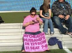 Where To Find My Cheating Husband  -- hilarious jokes funny pictures walmart fails meme humor