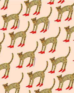 Cheetah in Heels -Bouffants and Broken Hearts