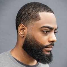 Faded Beard Styles, Beard Styles For Men, Hair And Beard Styles, Fade Styles, Long Hair Styles, Types Of Fade Haircut, Low Fade Haircut, Black Men Beards, Long Beards