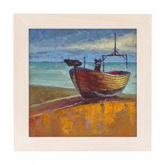 Boat near Hastings Painting by Rupert Peploe
