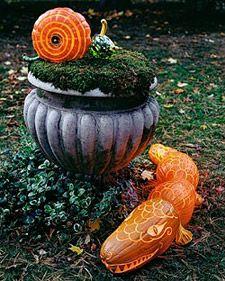 Pumpkin Creatures: Tools and Techniques - Martha Stewart Halloween