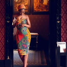 My type of outfit for the right reasons and the right events. Look beautiful and My type of outfit for the right reasons and the right events. Look beautiful and elegant in ankara designs and African fabrics. African Print Dresses, African Wear, African Attire, African Fashion Dresses, African Dress, African Prints, Ankara Fashion, African Style, Ghanaian Fashion