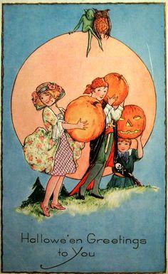 Halloween Greetings to You