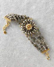 Chan Luu Stone Medallion Bracelet