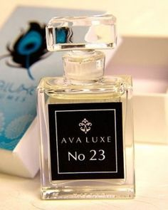 Ava Luxe No. 23:  The fragrance features hawthorn, black locust, sandalwood, lavender, himalayan geranium, musk and rose