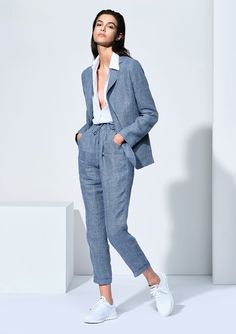 Spring Fashion Trends, Summer Fashion Trends, Summer Trends, Spring Summer Fashion, Spring Outfits Women, Summer Outfits, Traje Casual, Casual Chique, Outfits Damen