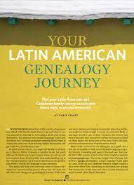 Latin American family history research