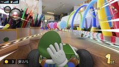 Nintendo Switch, Luigi, Circuit, Mario Kart Games, Race Games, October