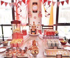 Circus themed 1st Birthday.  allproppedup.com.au