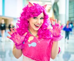 Awesome 80's style Pinkie Pie cosplay from My Little Pony! - 9 Pinkie Pie Cosplays