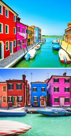 Click through to see some of the most colorful cities in the world! This post does not contain industrial soot stained cities; instead it showcases some of the most vibrant looking cities in the world. Oh The Places You'll Go, Places To Travel, Places To Visit, Holiday Destinations, Travel Destinations, Living In Italy, Travel Goals, Italy Travel, Strand