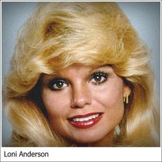 Loni Anderson Saint Paul, 5 agosto 1945 attrice statunitense,