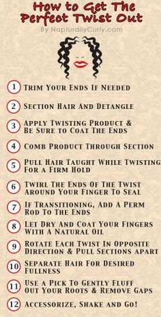 step by step how to, for wavy curls!