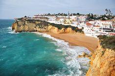 Carvoeiro, Cabo de Sao Vicente i plaże. Co warto zobaczyć na Algarve? Algarve, Water, Blog, Outdoor, Gripe Water, Outdoors, Blogging, Outdoor Games, Outdoor Living