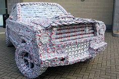 Have you ever wondered what happens to all those beer cans after you finish them off? Behold the awesomeness of 25 things fashioned from empty beer cans!