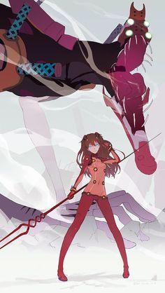 Asuka Langley, de Neon Genesis Evangelion.