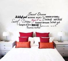 good night sweet dream wall stickers