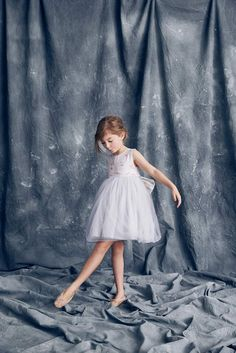 Nellystella Love Natalie Dress in Winter Melody (Embroidery)