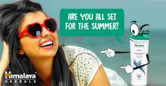 Say #HelloHair and get all set for summer with Himalaya Anti-Dandruff Shampoo.