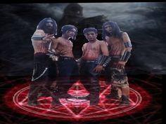 musik band kronis black xtreme metal jawa barat. sangat mencolok dengan aliran mkehitaman nya