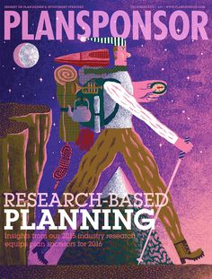 Cover for Plansponsor! Super big thanks to AD SooJin Buzelli