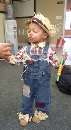 pinterest baby toddler cowboy costume - Google Search  sc 1 st  Pinterest & Easy u0026 Adorable DIY Scarecrow Costume Thatu0027s Perfect for Kids ...