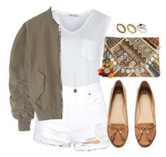 """""""White"""" by sunrisun ❤ liked on Polyvore featuring T By Alexander Wang, Fear of God, H&M, ASOS and Antik Batik"""