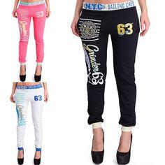 Neu von CHICK REBELLE:  Damen Skinny Sporthose Jogginghose Freizeithose Fitnesshose Slim Fit Body Sport Hose, erhältich in 3 Farben, für nur 9,95 €