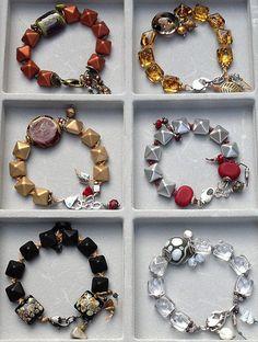 Using 2-Hole Bead Studs in bracelets
