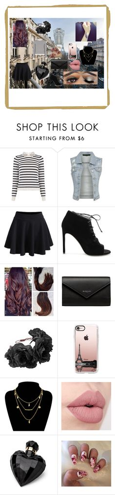 """""""Life In Paris"""" by alexis-kitten on Polyvore featuring Oasis, WithChic, Yves Saint Laurent, Balenciaga, Rock 'N Rose, Casetify and Lipsy"""