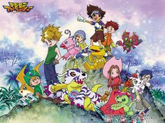Digimon Adventure /// Genres: Action, Adventure, Comedy, Fantasy, Kids