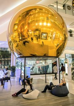 Gallery of Golden Bubbles / People's Architecture Office - 10