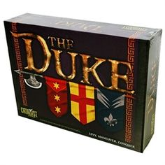 It's impossible not to compare Duke to Chess-- only Duke is much more fun! Check it out.