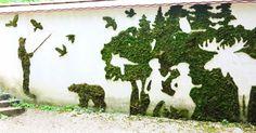 Decomagia Hobby Show : Πρασινίστε το χώρο σας με την Moss Art! Φτιάχτε μό...