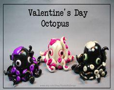 Valentine's Day Octopus by ShaidySkyDesign.deviantart.com on @deviantART