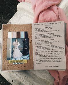 [Omens in the History of My Family] art journal + poetry by Noor Unnahar || journaling ideas inspiration diy craft collage scrapbook mixed media scrapbooking, tumblr indie pale grunge hipsters aesthetic beige, creative instagram artists photography handwritten, words quotes muslim women writers of color writing poetic artsy ||