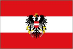 Austria Flag Old