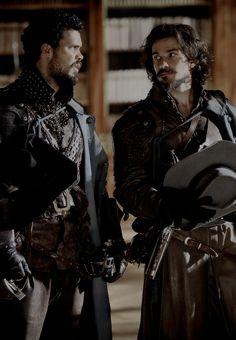 The Musketeers (BBC) - Porthos & Aramis