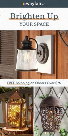 Sign up and discover space heaters that will keep you comfy & cozy! Picture Shelves, Pinterest Home, Deck Decorating, House Siding, French Country House, Reno, Dining Room Design, Rustic Style, Outdoor Lighting