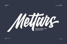 Mettars by Adil Budianto on @creativemarket