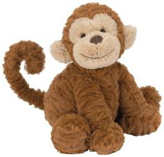 Jellycat Jellycat Fuddlewuddle Monkey Medium