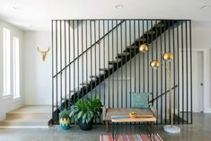 East 9th Staircase - Midcentury - Staircase - Austin - by Davey McEathron Architecture