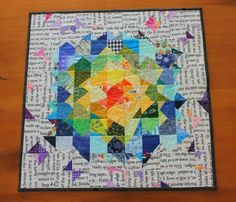 Piece At Last: Schnitzel & Boo Mini Quilt Swap gift
