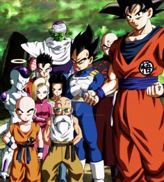 Dragon Ball Super Ending 11 - Team universe 7 by IndominusFreezer