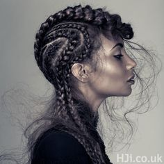 Hair by Afro Hairdresser of the Year finalist, Luke Benson at D&J Ambrose