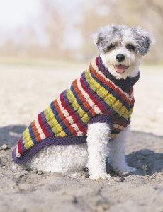 Dog Coat | Yarn | Free Knitting Patterns | Crochet Patterns | Yarnspirations