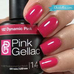 Pink Gellac Dynamic Pink - Available at Chickettes.com