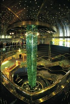 Maasdam's Atrium. Where Nicki will be for 3 months cruising and working on this ship!