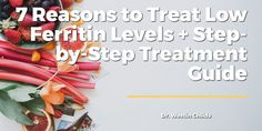Tiredness Remedies 7 Reasons to Treat Low Ferritin Levels Step-by-Step Treatment Guide - From low energy to hair loss, low ferritin may be the cause of many symptoms you are experiencing. Learn how to safely increase your ferritin in this post. Cold And Cough Remedies, Headache Remedies, Hair Loss Remedies, Skin Care Remedies, Acne Remedies, Insomnia Remedies, Stop Hair Loss, Prevent Hair Loss, Holistic Remedies